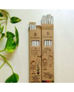 Recycled Newspaper Colour pencils and Plantable Seed pencils (10 + 5)