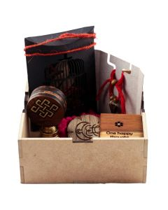 Joy of Giving Box Share The Happiness I Wood Gift Hamper I Decorative Box