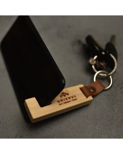 Mobkey Holder I Wooden Mobile Holder and Key Chain