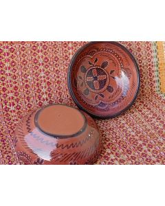 Kutch Painted Pottery Bowl 5 inch (Set of 2)